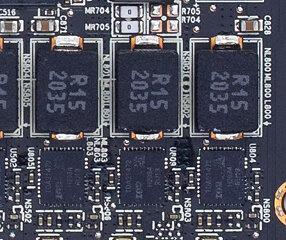 Memory Voltage, VRM Configuration