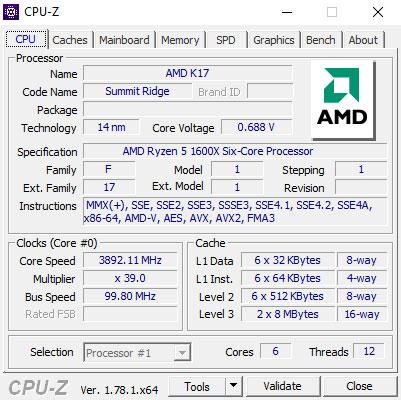 AMD Ryzen 5 1600X 3 6 GHz Review | TechPowerUp