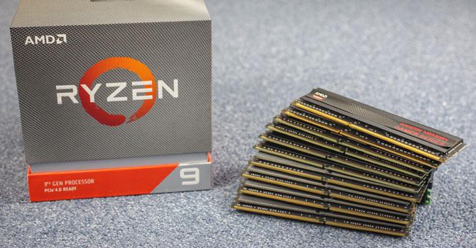 AMD Zen 2 Memory Performance Scaling with Ryzen 9 3900X