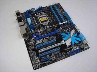 ASUS P7P55D-E Pro LGA 1156 Intel P55 Review | TechPowerUp