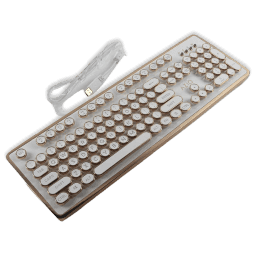 AZIO MK Retro Keyboard Review