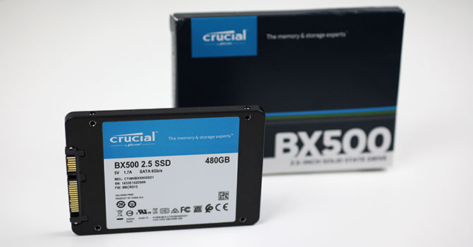 Crucial BX500 480 GB Review | TechPowerUp