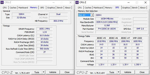G Skill Ripjaws V 3200 MHz 32 GB (2x 16 GB) Review | TechPowerUp