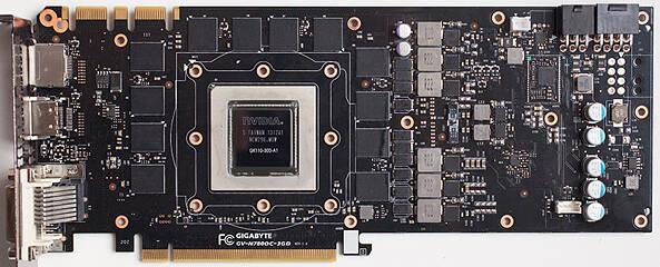 Graphics Card Teardown PCB Front