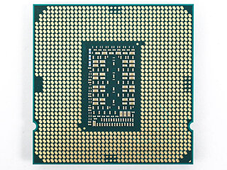 Processor back view