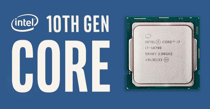 i7 10th Gen CPU