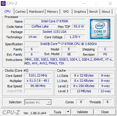 Intel Core i7-9700K Review | TechPowerUp