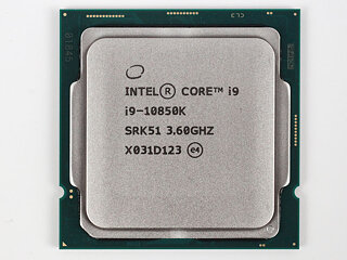 Processor front view