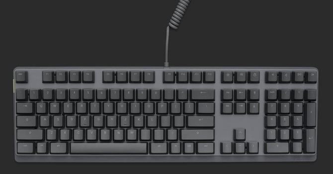 3a2769547bf The Mionix Wei is a full-size keyboard that comes in US, UK, Nordic,  French, German, and Japanese layout options. I have here the US layout, ...