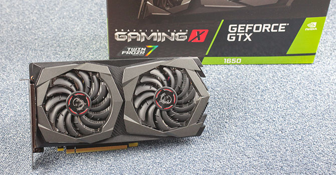 MSI GeForce GTX 1650 Gaming X 4 GB Review | TechPowerUp