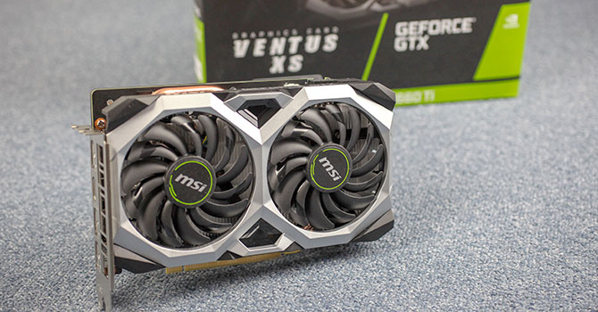 MSI GeForce GTX 1660 Ti Ventus XS 6 GB Review   TechPowerUp