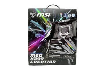 MSI MEG X299 CREATION Review | TechPowerUp