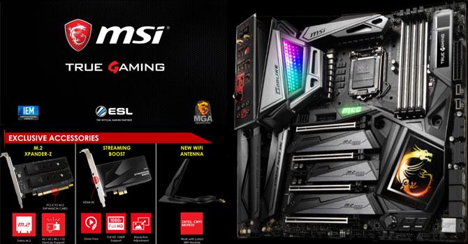 MSI MEG Z390 GODLIKE Preview   TechPowerUp