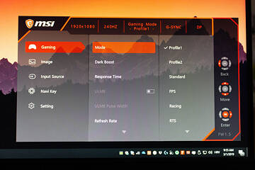 MSI Oculux NXG251R 240 Hz G-Sync Gaming Monitor Review