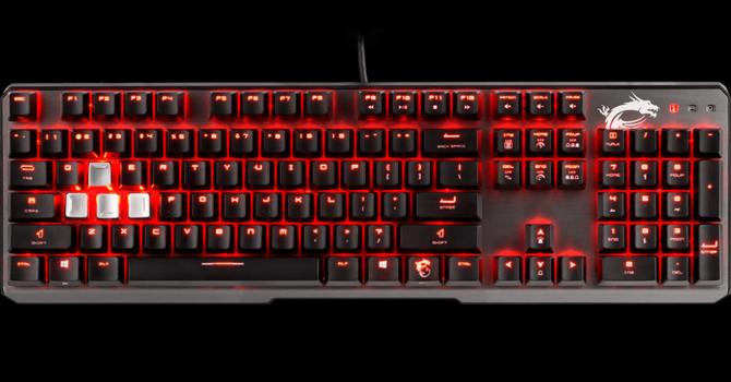 Msi Vigor Gk60 Keyboard Review Techpowerup