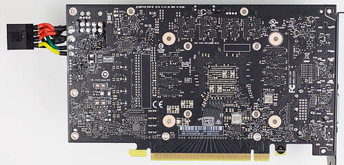 Graphics Card Teardown PCB Back