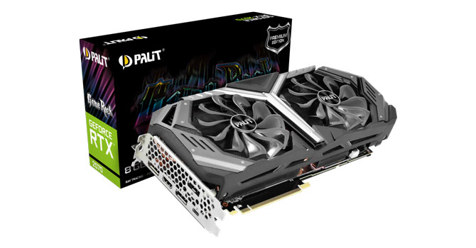 Palit GeForce RTX 2070 GameRock Premium 8 GB Review
