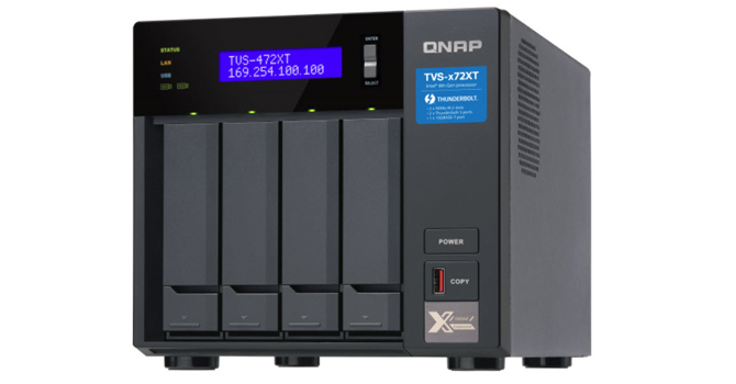 QNAP TVS-472XT THUNDERBOLT 3 4-Bay NAS Review | TechPowerUp