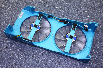 Graphics Card Cooler Back