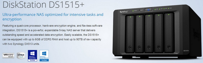 Synology DS1515+ & DX513 Expansion Unit Review | TechPowerUp